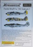 X48170  1/48 Focke-Wulf Fw 190 in Stab markings decals (15)